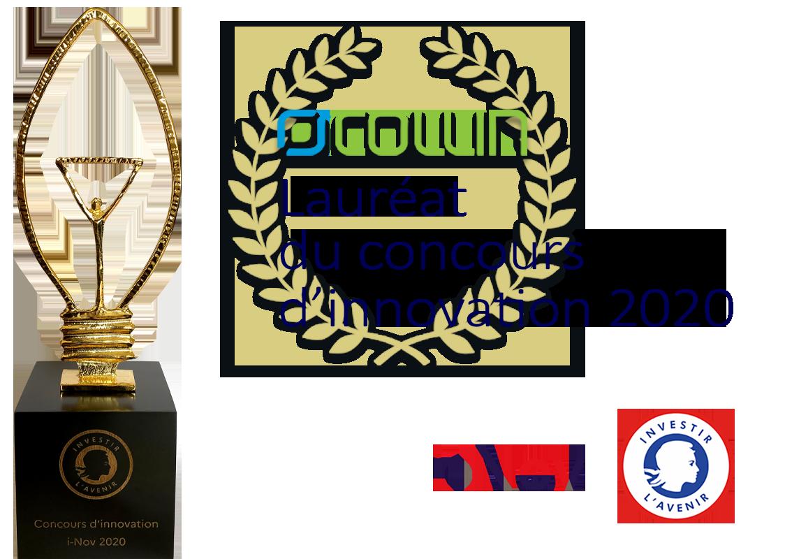 Collin lauréat du Concours d'innovation 2020
